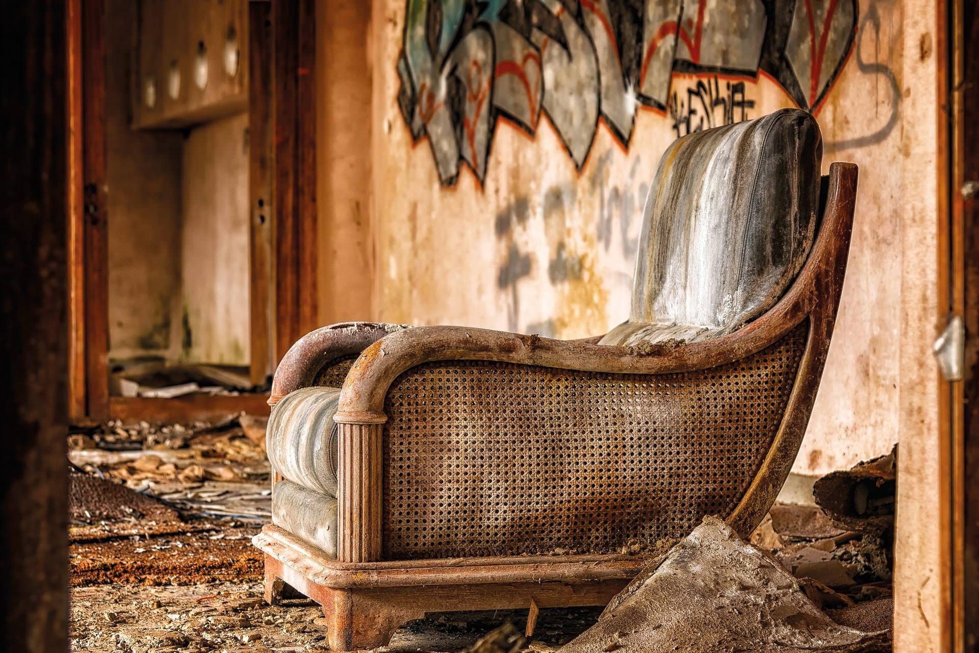 Die ewige Frage: soll ich meine gebrauchten Möbel wegwerfen?